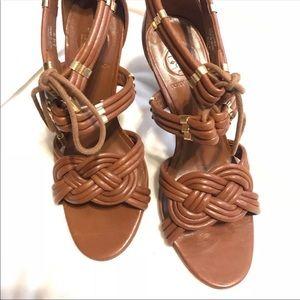 Tory Burch 6.5 Adriana Sandal High Heel Ankle Strp